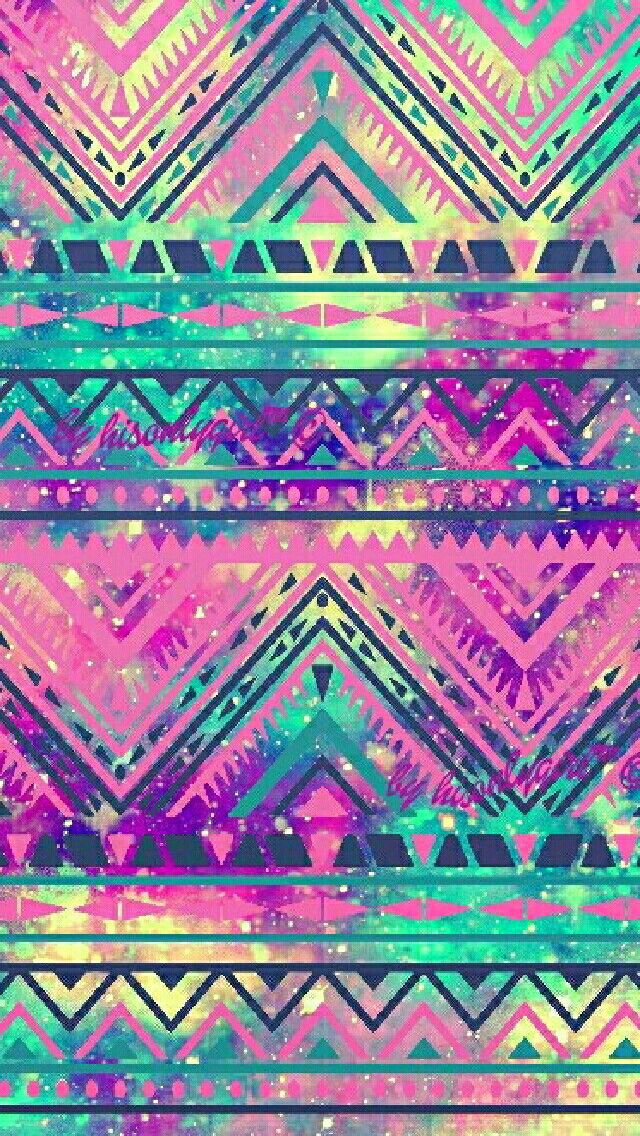 Vintage Tribal Galaxy Wallpaper I Created For The App CocoPPa
