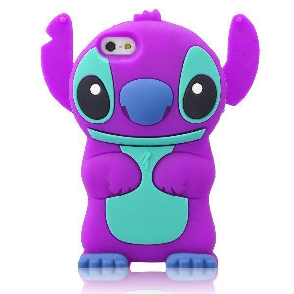 finest selection d05a8 396c0 DE Cute 3D Cartoon Animal Series Apple iPhone 5C Case New Purple 3D ...