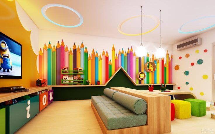 Ludoteca Sala De Juegos Para Niños Guardería En Casa Espacios Para Niños