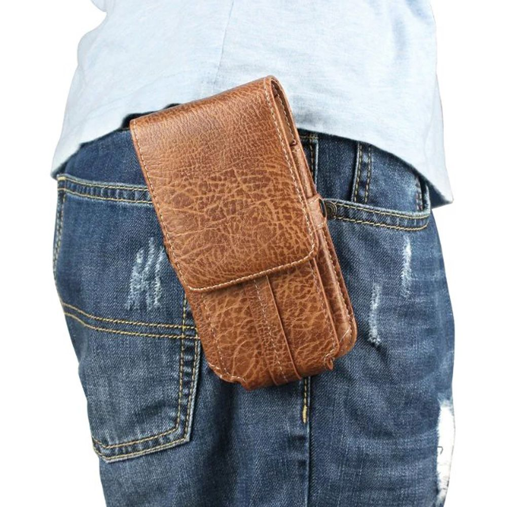 3b87ef2351d Click to Buy << Vertical Horizontal Man Belt Clip Mobile Phone Cases Pouch