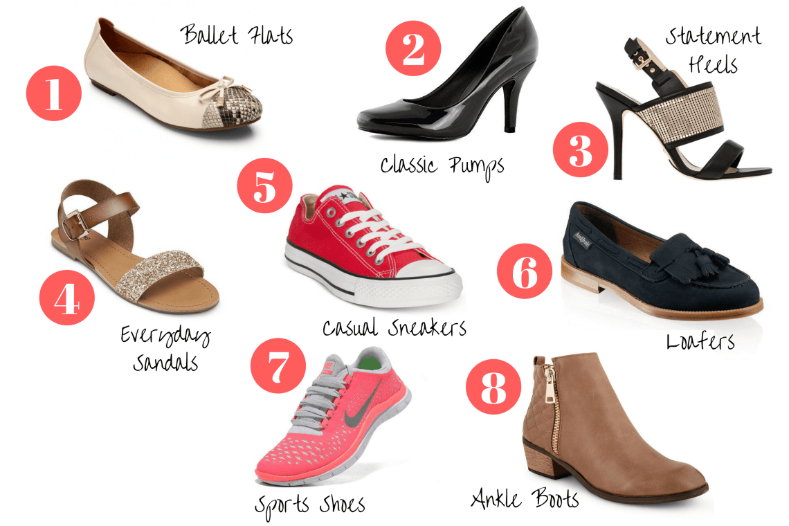 ca837d013f0 8 Pairs of Shoes Every Woman Should Own | LIFESTYLE | Shoes, Shoe ...