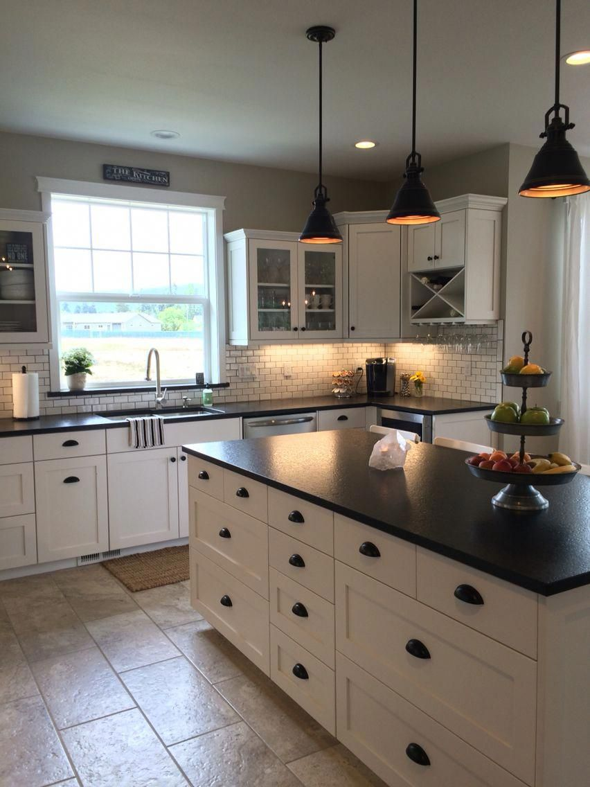 Black Slate Countertops Kitchen Kitchencountertopsisland Black