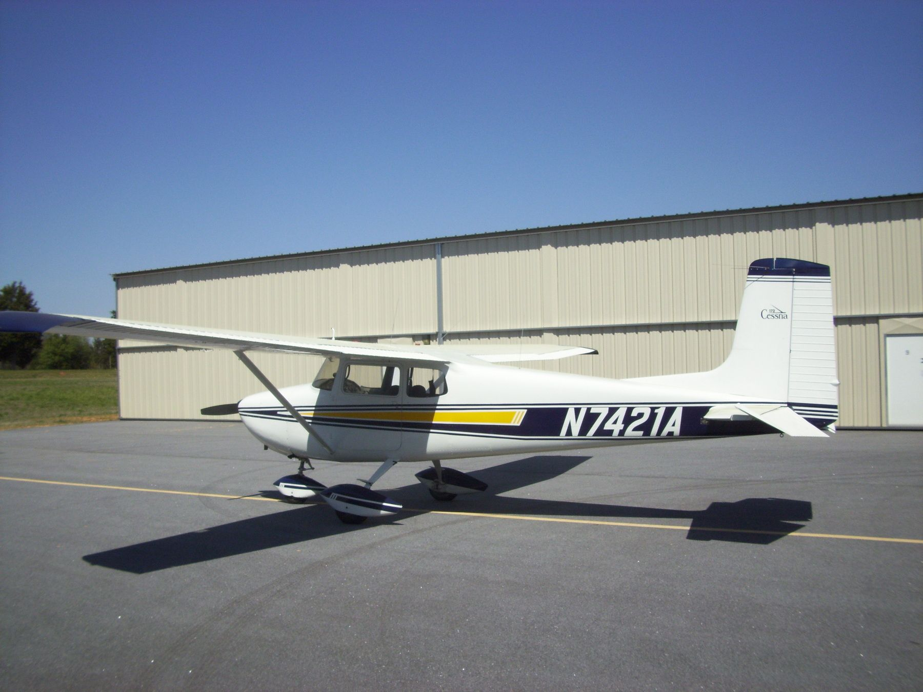 1956 Cessna 172 for sale in (KLUX) Laurens, SC USA => http