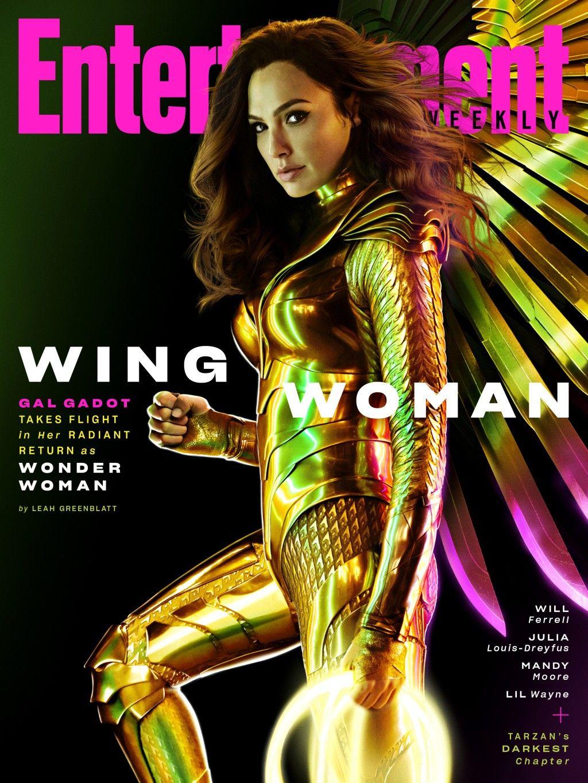 Wonder Woman 1984 On The Cover Of Entertainment Weekly Magazine In 2020 Gal Gadot Wonder Woman Wonder Woman Gal Gadot