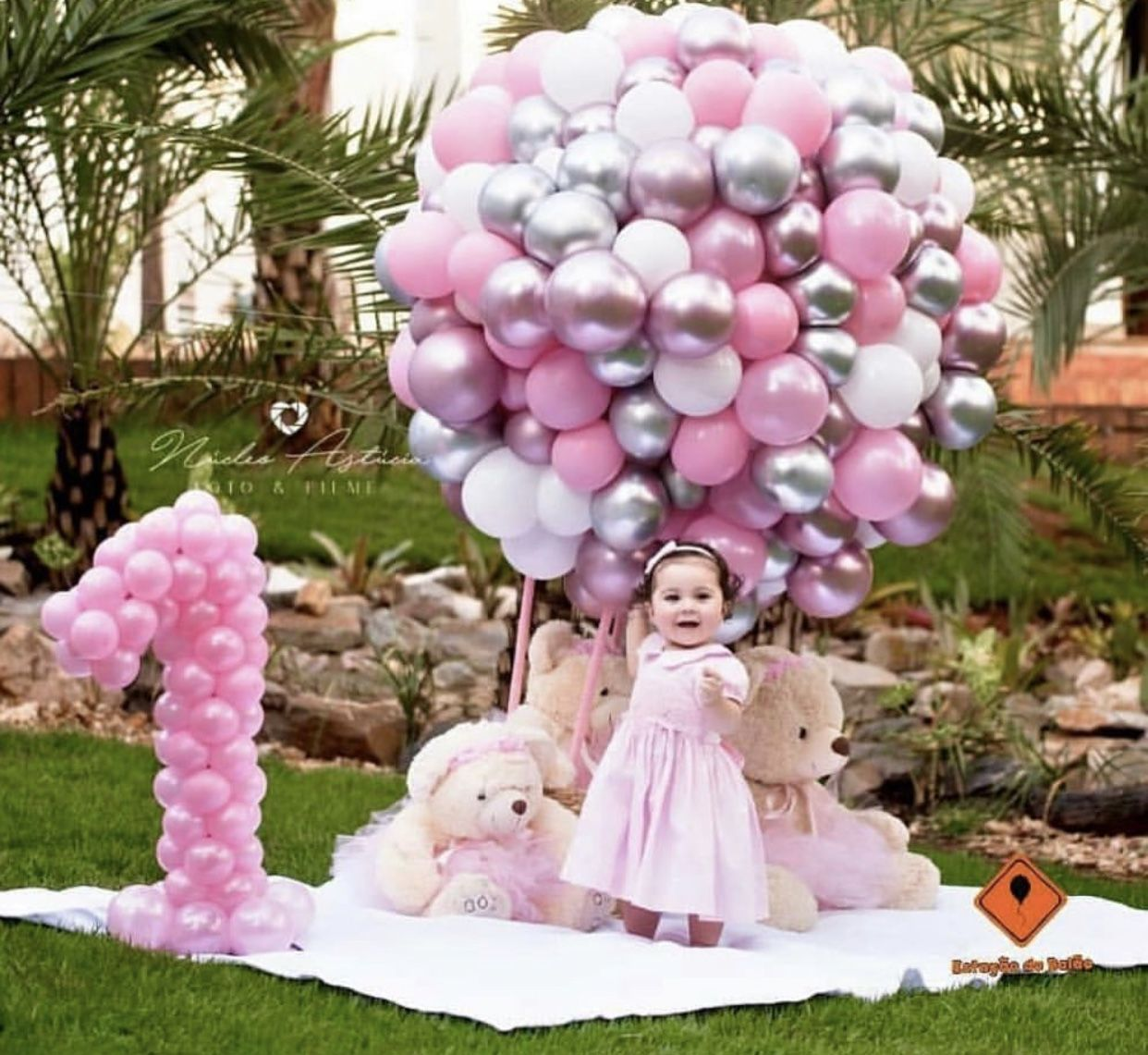 Pin By Angie Garcia On Baptism 1st Birthday Party For Girls