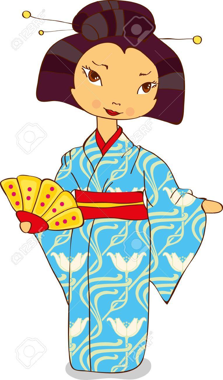japan clipart kimono 4 stuff pinterest kimonos japan and rh pinterest com japanese clipart japanese clipart free