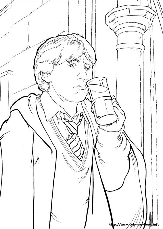 Harry Potter Coloring Picture Harry Potter Coloring Pages Harry Potter Portraits Harry Potter Drawings