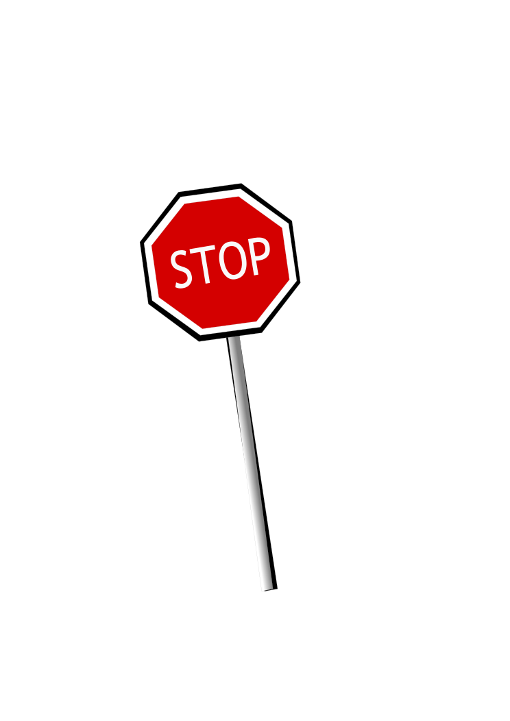 Leaning Stop Sign Stop Sign Signs Road Signs
