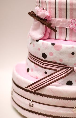 Diaper Cake 1 by Dacali, via Flickr