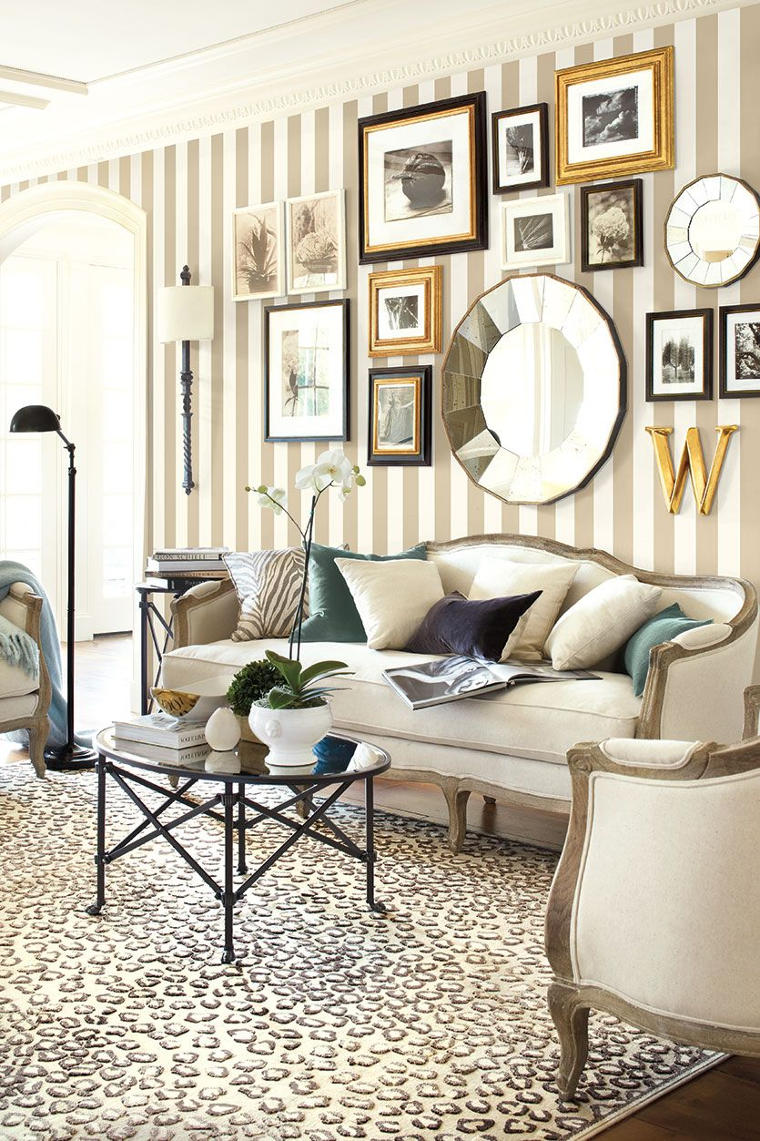 Wallpaper Designs For Living Room: Don't Be Afraid Of: Animal Prints