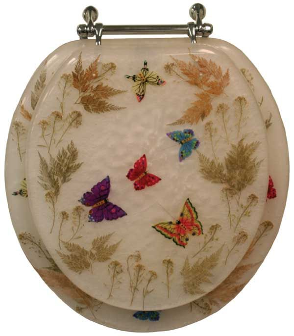 Incredible 58 98 Butterfly Themed Acrylic Toilet Seat In 2019 Caraccident5 Cool Chair Designs And Ideas Caraccident5Info