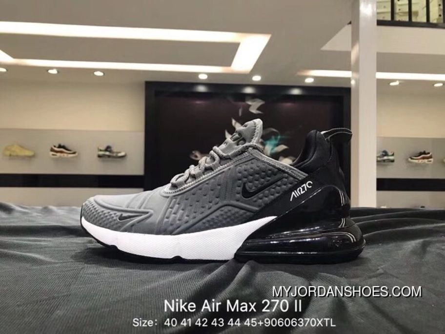 sports shoes 4c03b 3d02c Nike Air Max 270 II 2.0 Breathable Mesh Half-Palm Cushion Running Shoes  After The