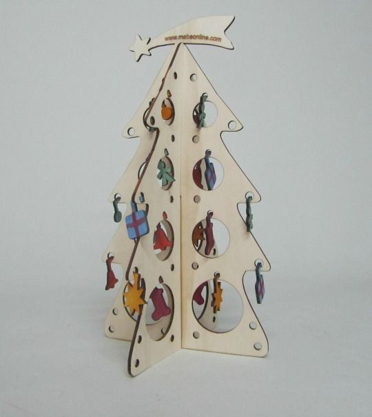 Árbol de Navidad de madera | adornos | Pinterest | Navidad, Arbol ...