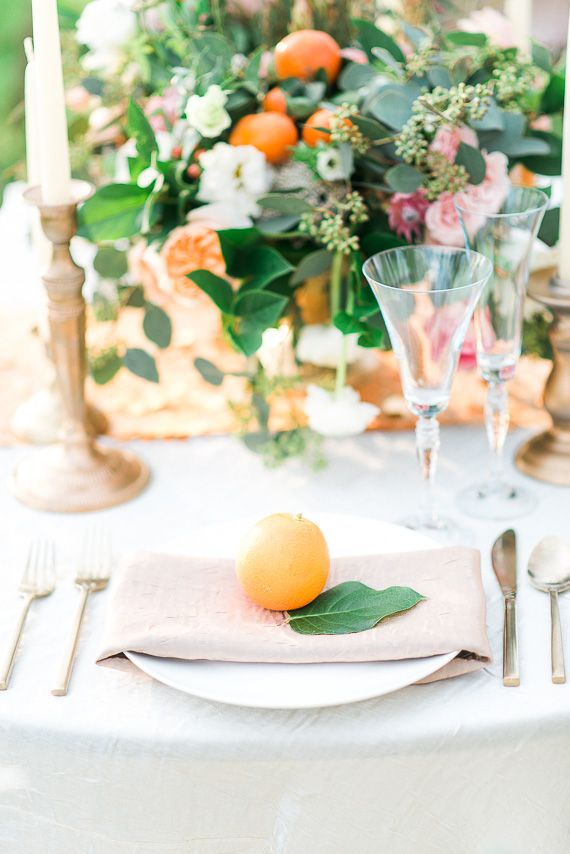 Pastel and gold wedding ideas | Photo by Peppermint Plum Photography | Read more -  http://www.100layercake.com/blog/wp-content/uploads/2015/03/Pastel-and-gold-wedding-ideas