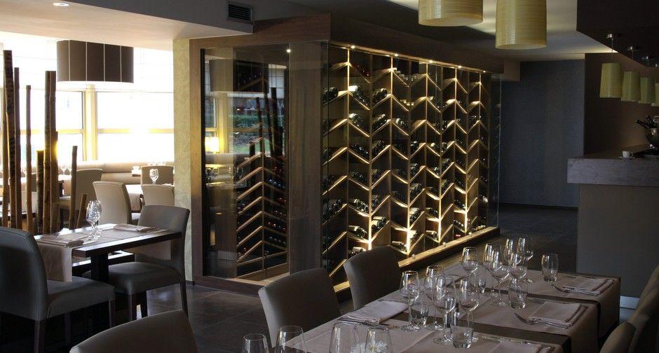 cave a vin moderne - Google Search | wine bar | Wine cellar ...