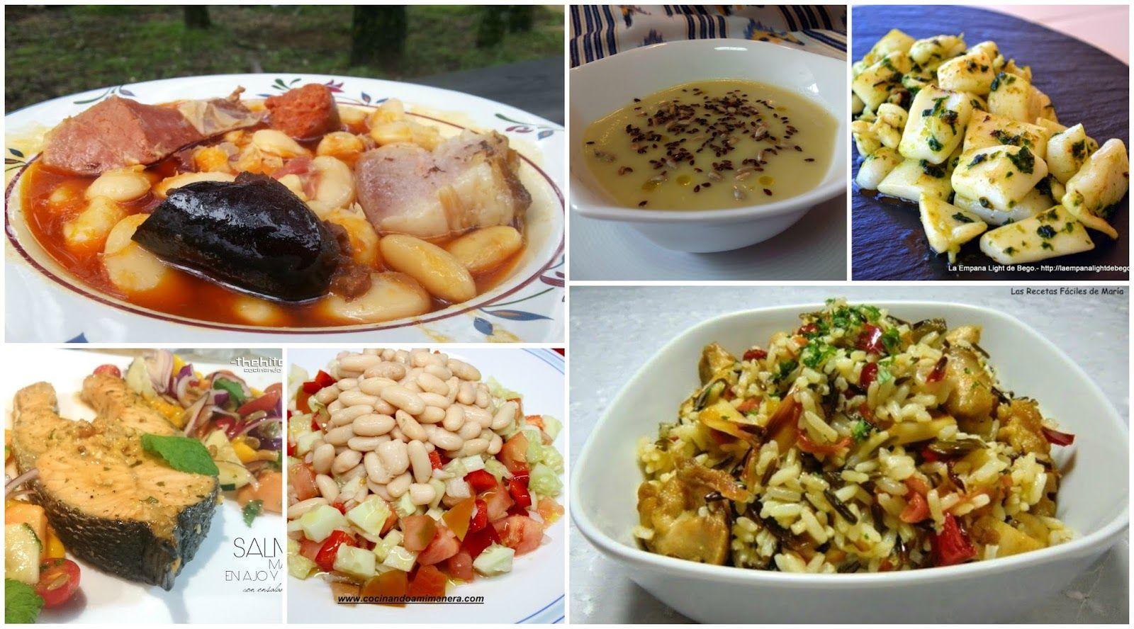 Diez propuestas para menú semanal