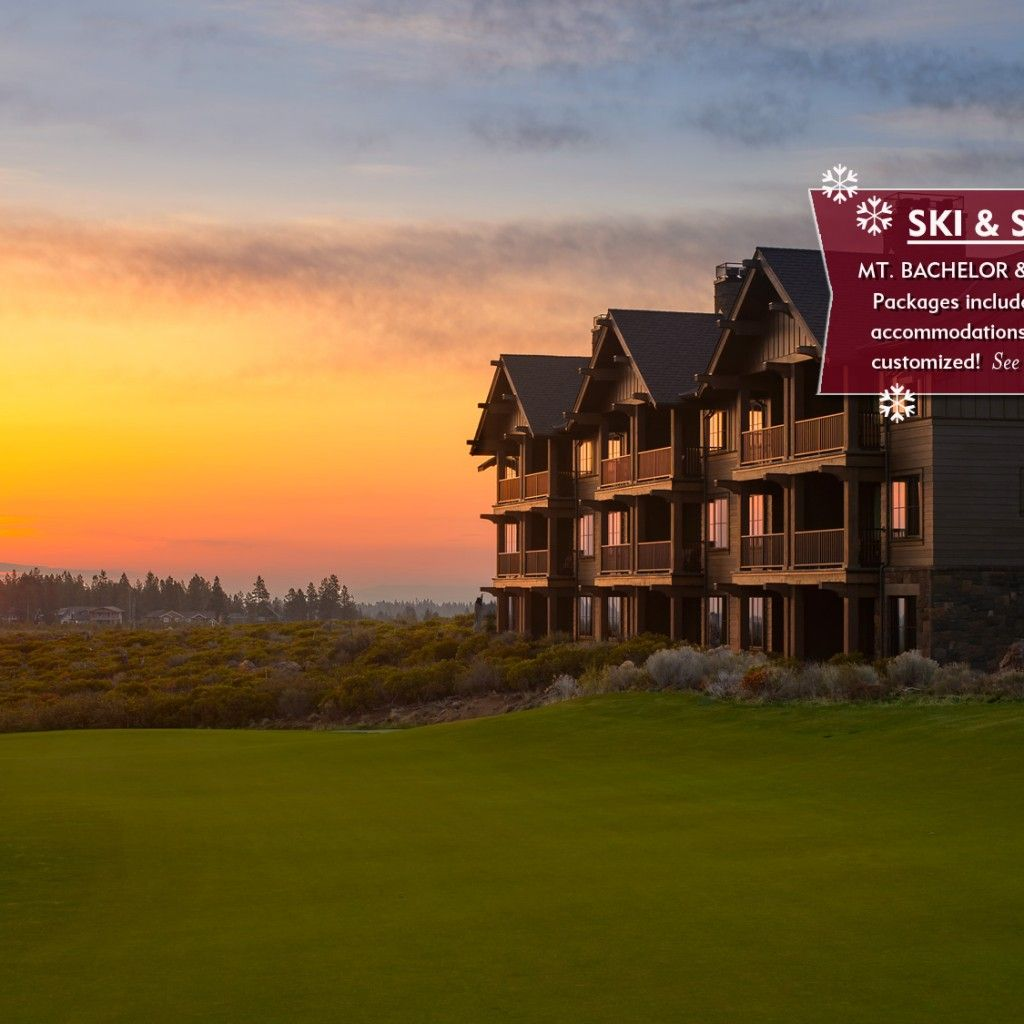 Tetherow offers luxurious accommodations with mountain or golf course views at our Bend Oregon hotel, just minutes from Mt. Bachelor and downtown Bend.