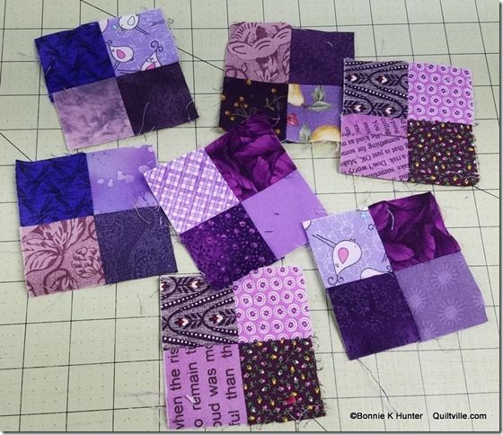 mystery quilt Provence