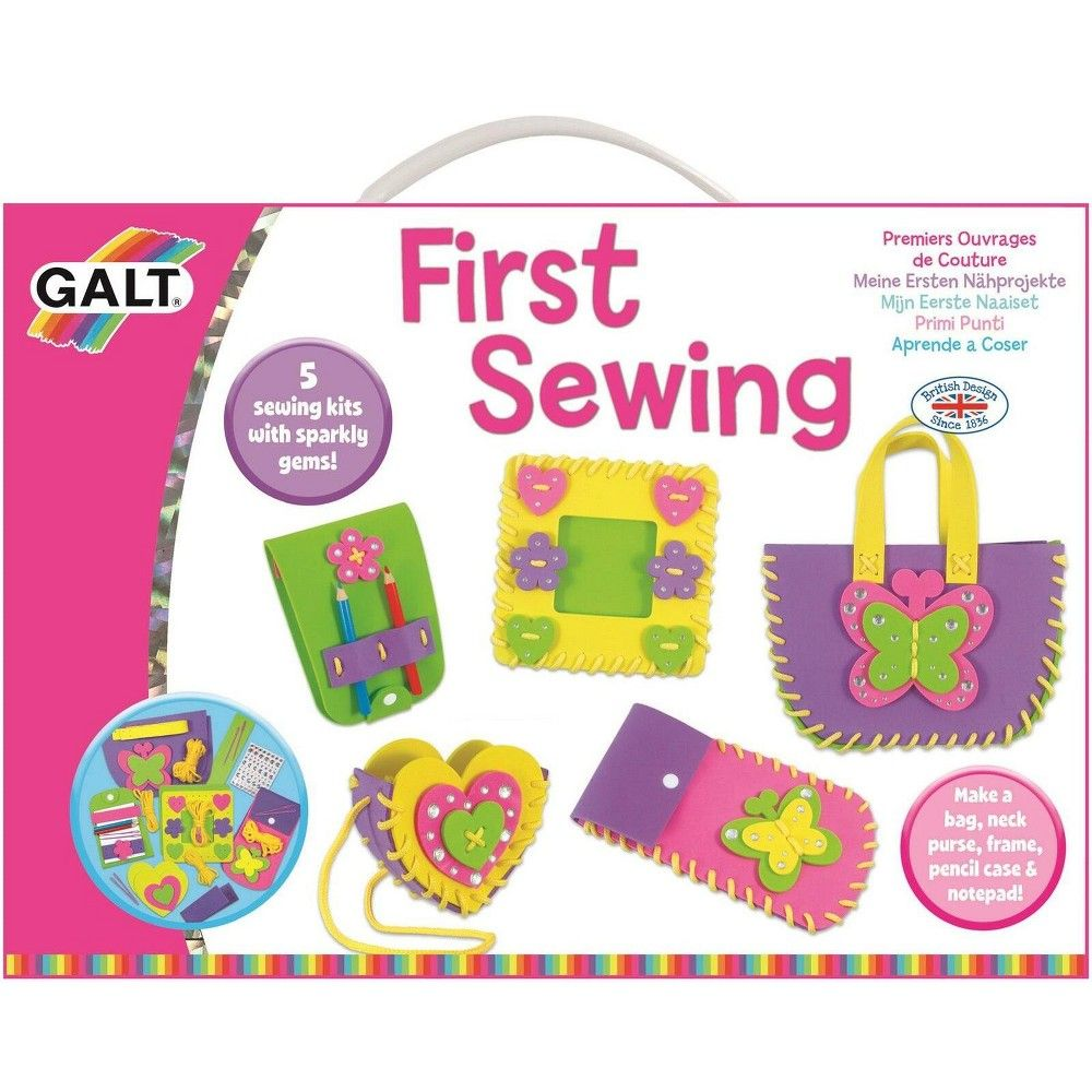 Galt First Sewing Kit For Kids In 2021 Diy And Crafts Sewing Kids Sewing Kit Craft Kits For Kids