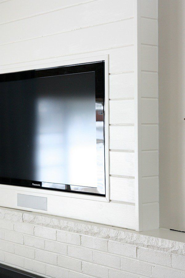 A Designer-Worthy DIY to Camouflage Your TV   Pinterest   House ...