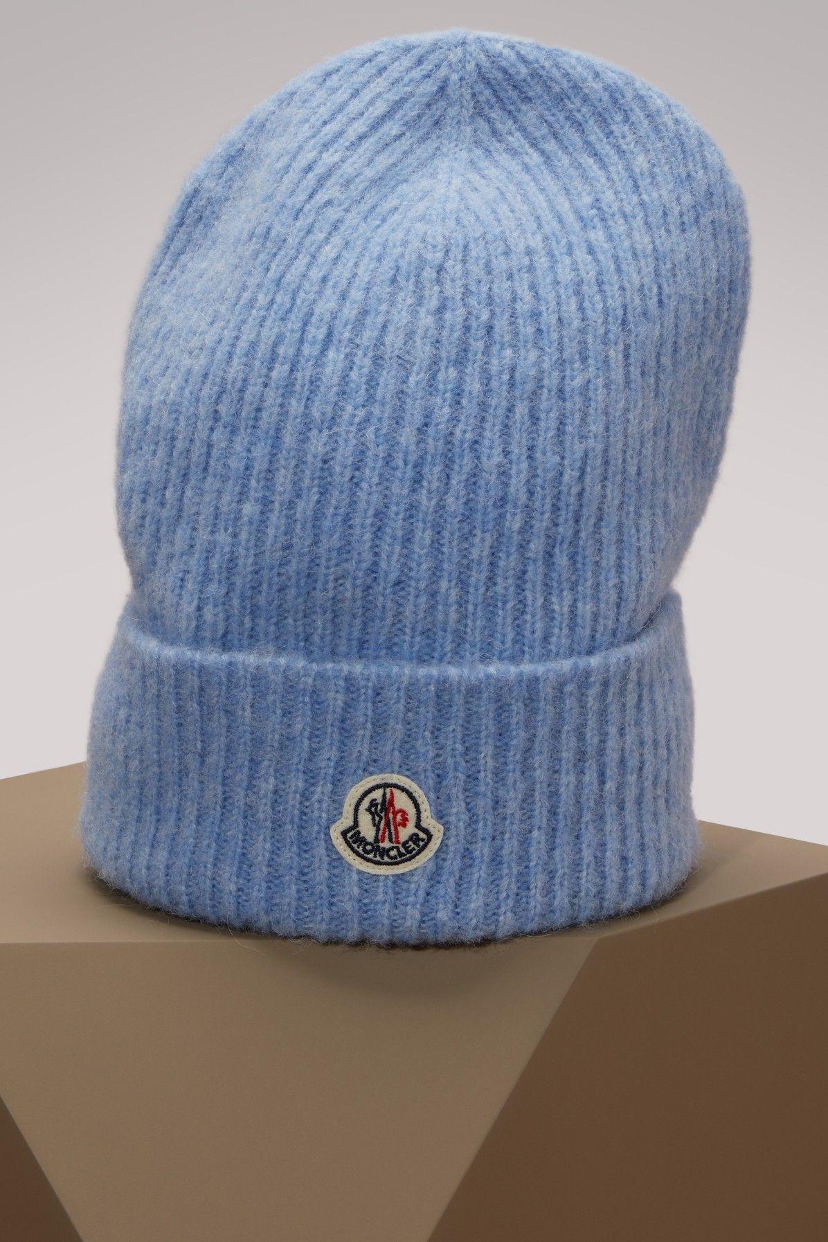 MONCLER Wool hat. #moncler #