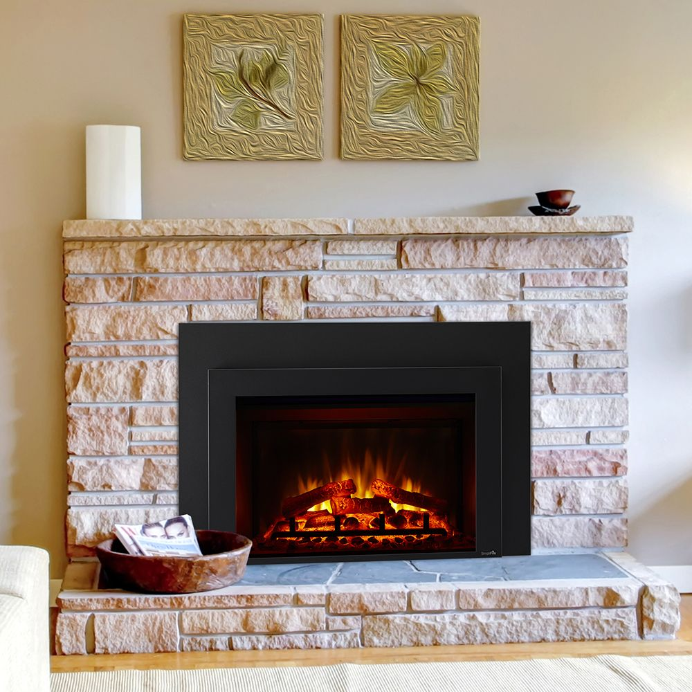 Hearth Home 30 In Simplifire Plug In Electric Fireplace Sf