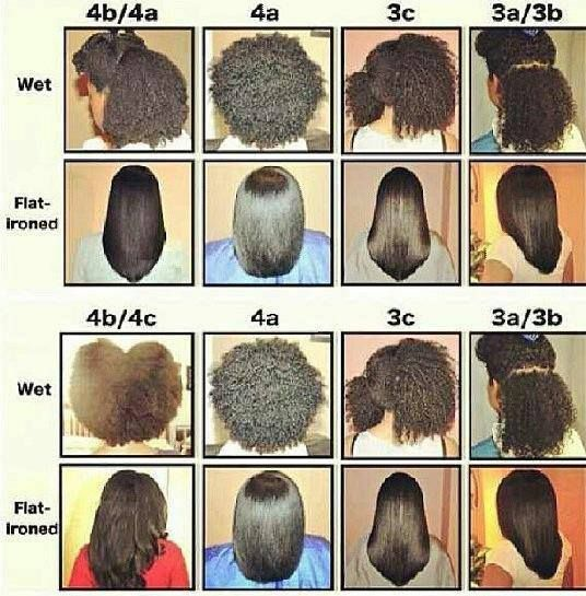Natural hair type chart popular naturally curly