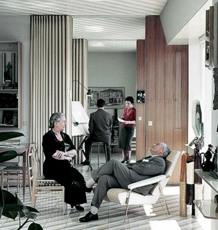 Casa via dezza gio ponti family courtesy of gio ponti for Interior design italiani