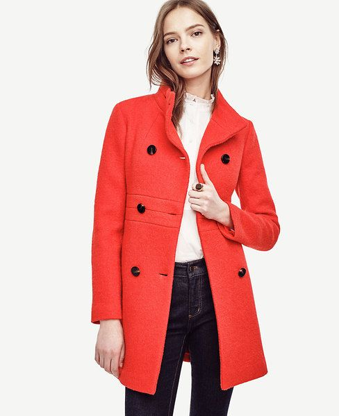 Banded Statement Coat | Construction, Love this and Return