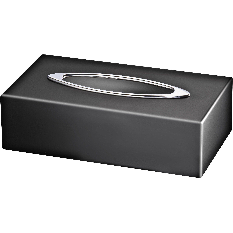 Black Rectangular Tissue Box Holder Cover Tray Dispenser Tissue Case Solid Brass Tissue Box Holder Tissue Boxes Solid Brass