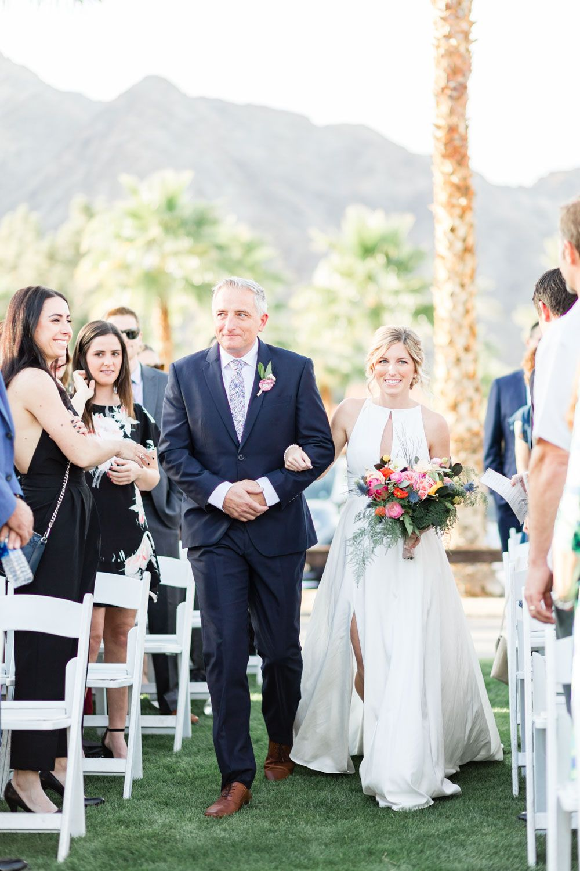 Gorgeous Winter La Quinta Resort Wedding In Palm Springs Resort Wedding Wedding La Quinta Resort