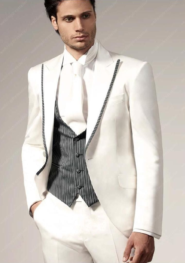 صور بدل رجالي للأفراح والمناسبات احدث موديلات البدل ميكساتك Wedding Suits Groomsmen Wedding Suits Men White Wedding Suits For Men