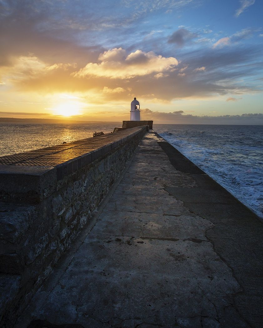 South Wales ICM sunset photo at Porthcawl