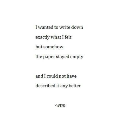 I feel empty quotessayings pinterest feeling empty feeling empty altavistaventures Image collections