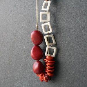 Cuadradas Necklace now featured on Fab. #diversostudio #dianasamper - diversostudio.com