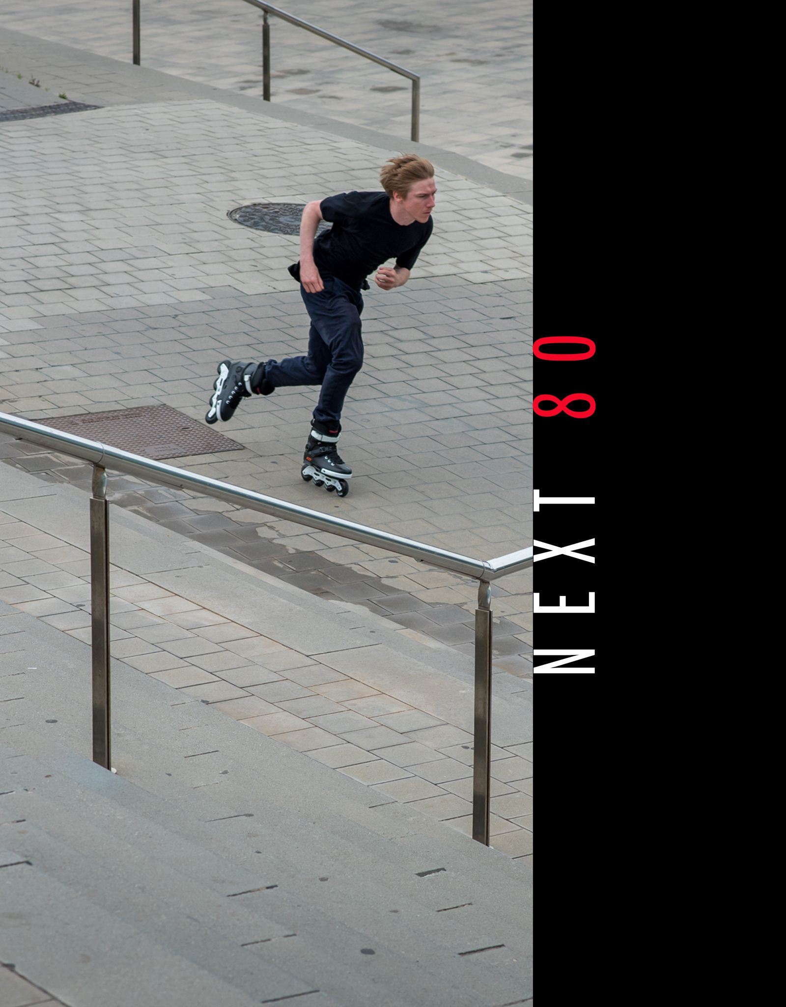 Some Feelings Can T Be Explained Have To Be Experienced Powerslide Next 80 Black With Trinity Mounting Preorder It Now At Inline Skate Rollerblading Urban