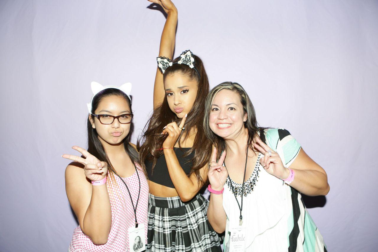 Ariana Grande Honeymoon Tour Meet N Greet Honeymoon Mg