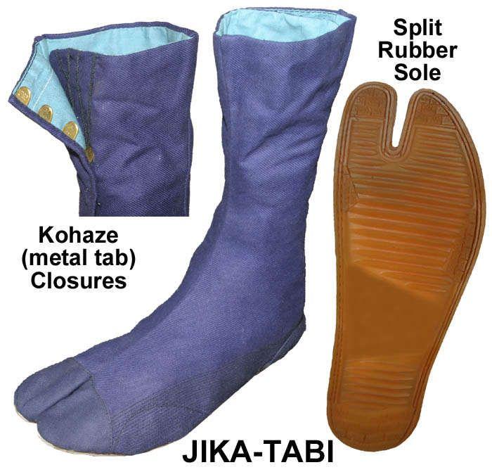How to Make Jika-Tabi (Outdoor Ninja Shoes) | Cosplay!!! | Pinterest ...