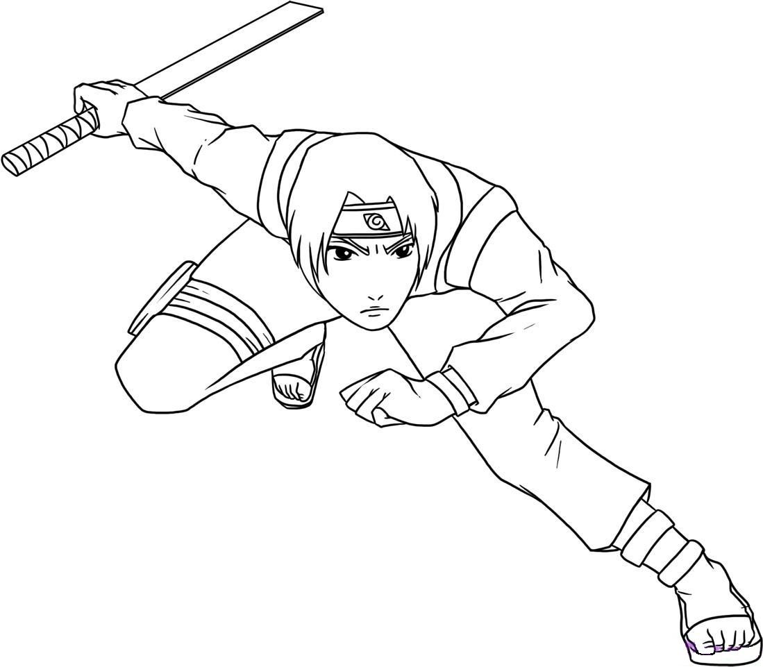 Sai Put Horse Fighting Coloring Pages For Kids G6j Printable Naruto Coloring Pages For Kids [ 961 x 1099 Pixel ]