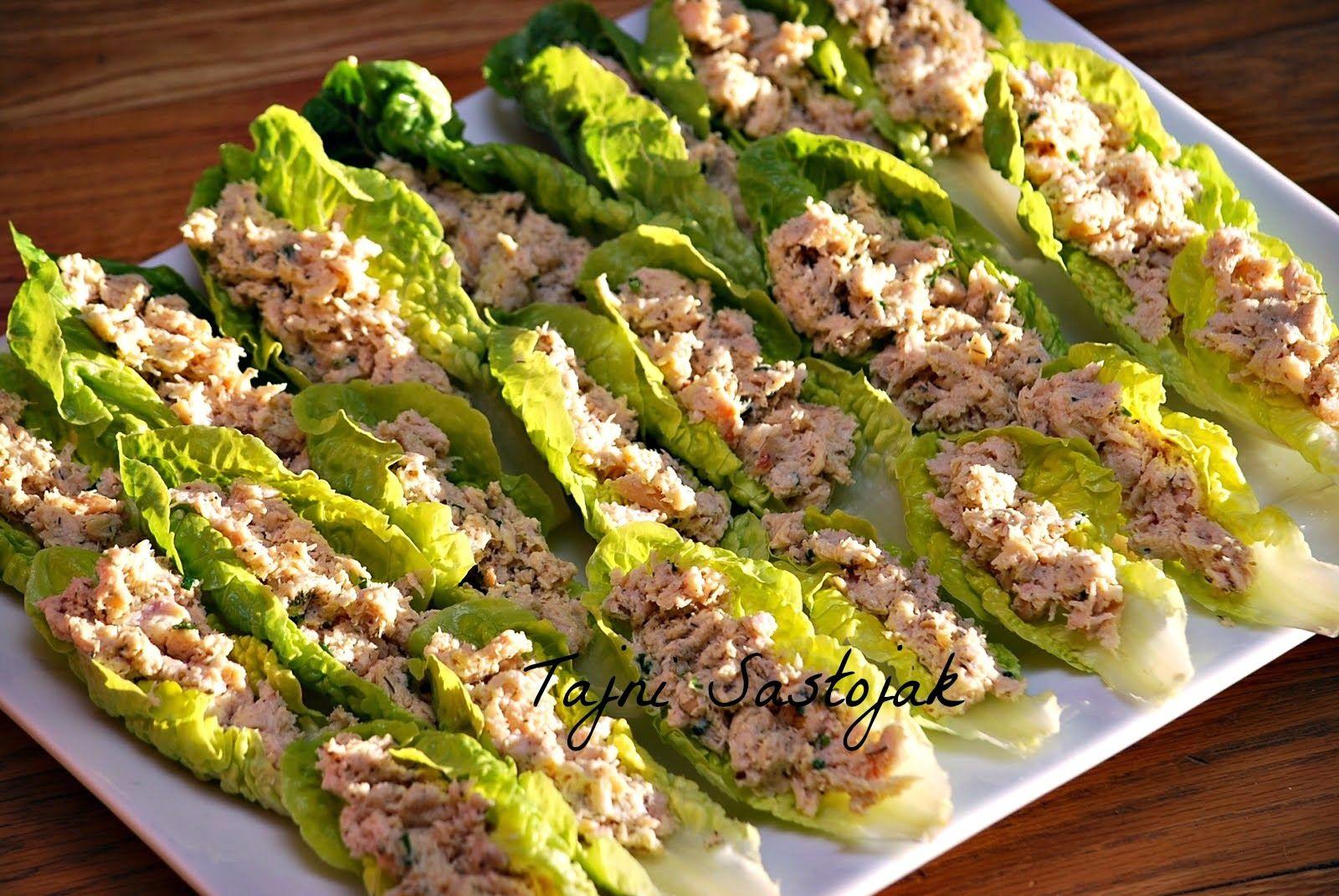 Salata od piletine i mozzarele