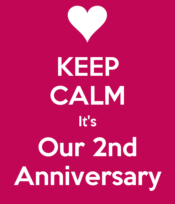 We Re Very Happy It S Our 2nd Anniversary And We Re So Thankful We Appreciate Every Like Every Comment Bride Sister Sister Wedding Quotes Keep Calm Wedding