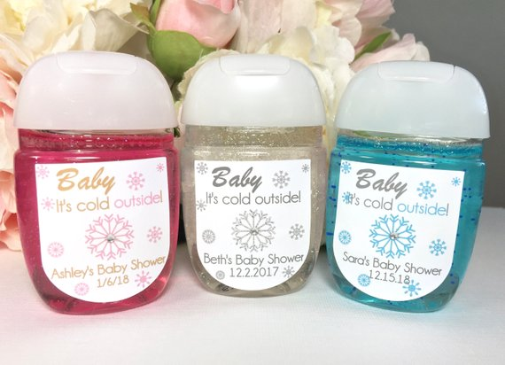 Baby It S Cold Outside Baby Shower Favor Labels Winter Baby
