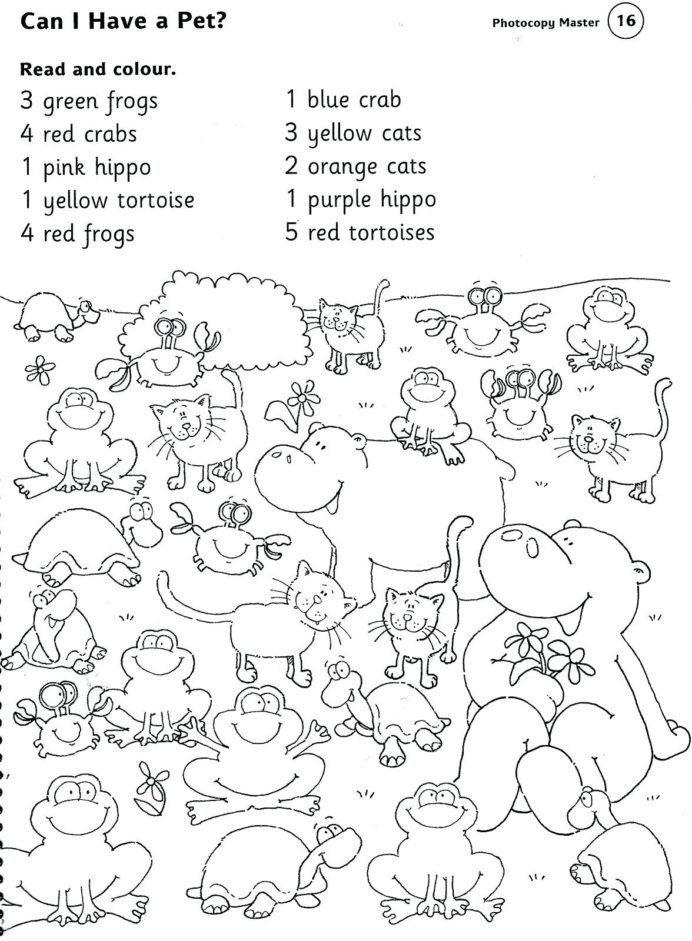 Farm Worksheets For Kindergarten Animal Printable Worksheets Pet Farm And Zoo Ani In 2020 Kindergarten English English Worksheets For Kindergarten 1st Grade Worksheets