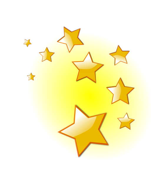 stars clip art at clker com vector clip art online royalty free rh pinterest com clip art stars and bars clip art stars and moon