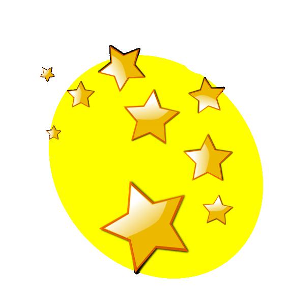 stars clip art clker vector