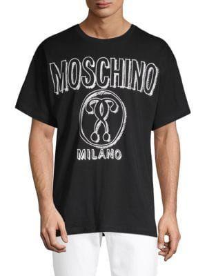 d342773d1 MOSCHINO Graphic Cotton Tee. #moschino #cloth | Moschino | Cotton ...