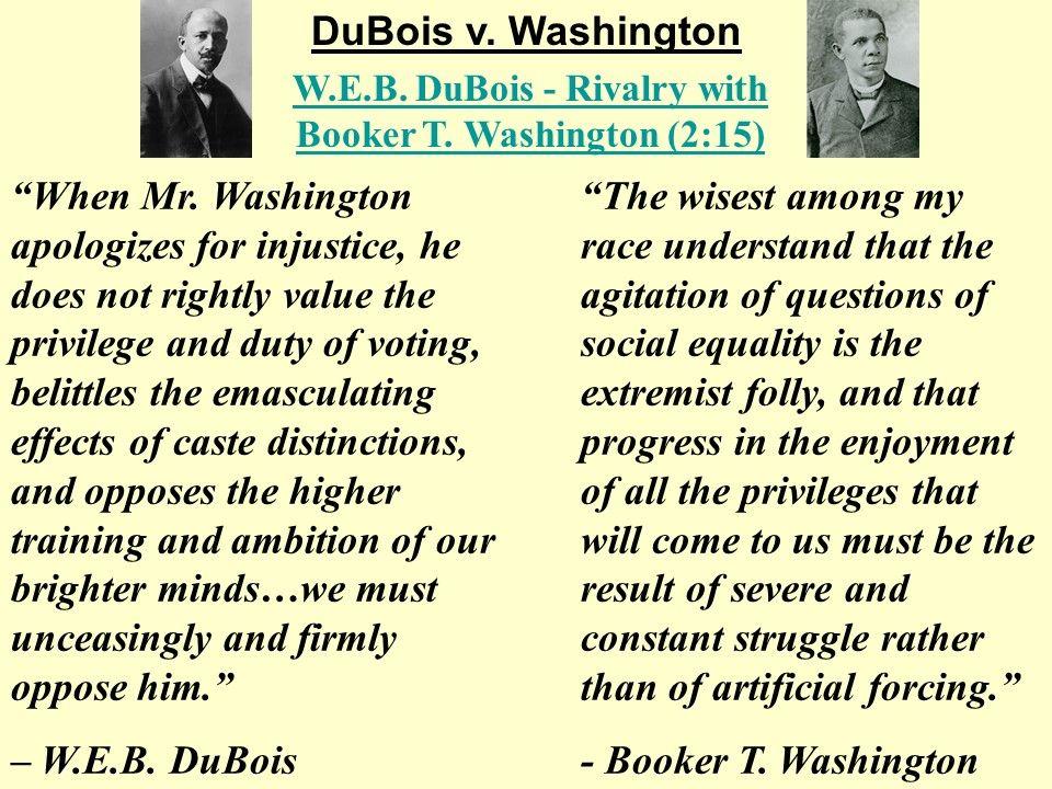 Ida B Wells Booker T Washington And Web Dubois Ppt Hip