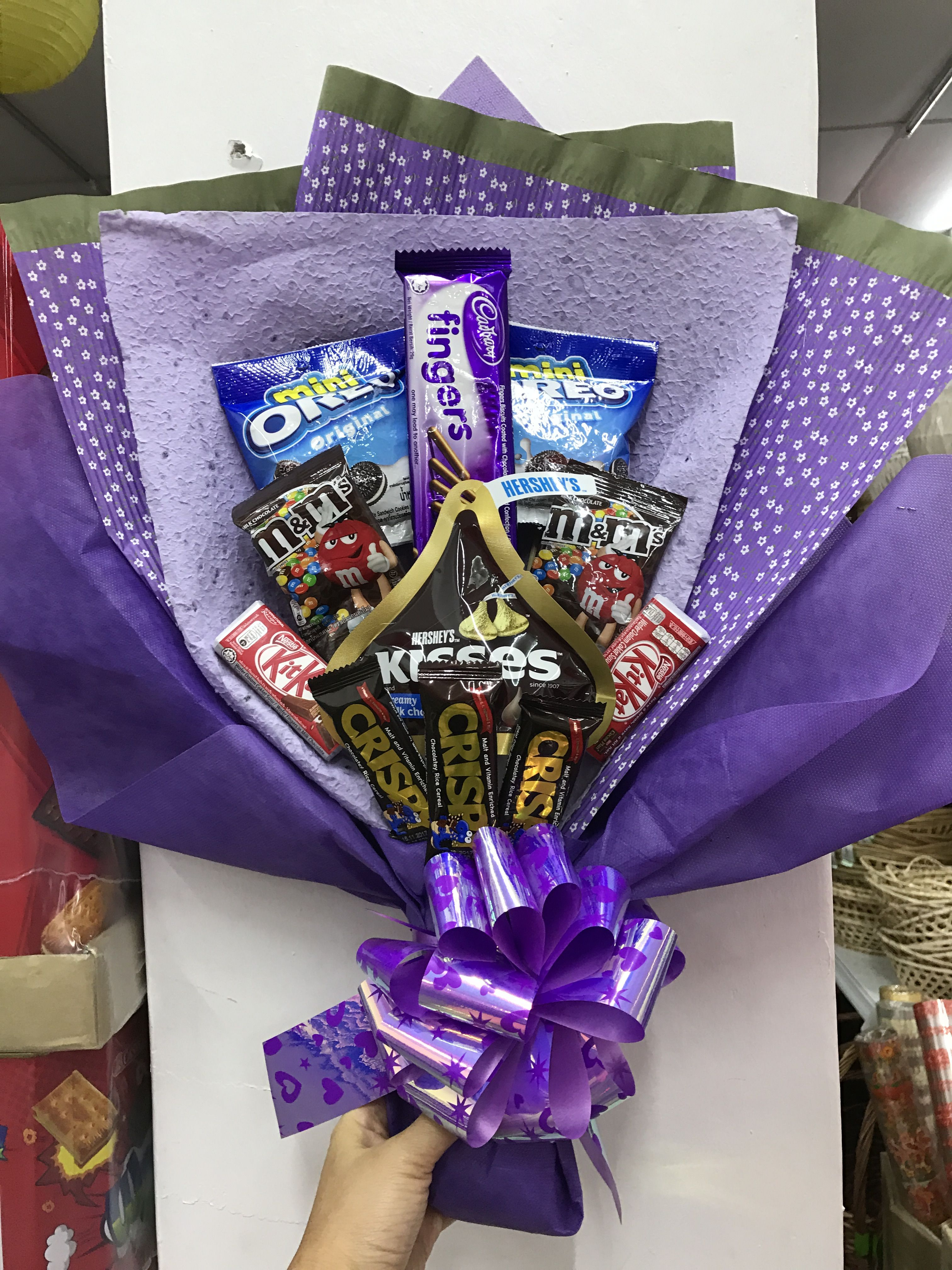 Pin By Semua Snack On Candy Bouquet Candy Bouquet