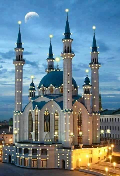 Mezquita Qol Sarif Rusia Mosque Architecture Beautiful