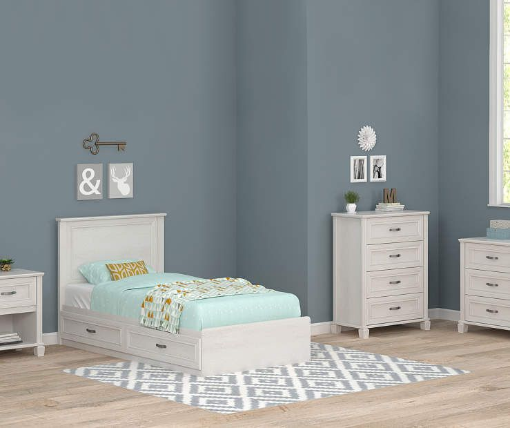 Best Magnolia White Oak Twin Mates Bedroom Collection At Big 640 x 480